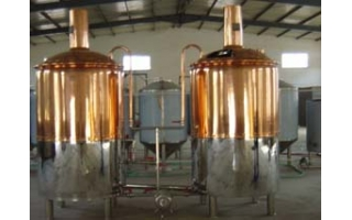 1000L copper covered microbrew for Cambodia